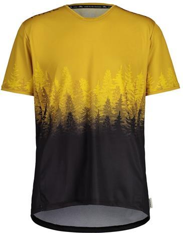 Maloja DrachenkopfM. Multi 1/2 Short Sleeve Multisport Jersey Men, golden fall multi, Miesten takit, paidat ja muut yläosat