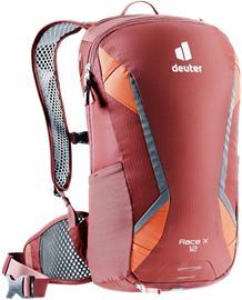 deuter Race X Backpack 12l, redwood/paprika, Urheilulaukut