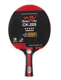 Double Fish Ck-205 Table Tennis Racket Accessories Sports Equipment Rackets & Equipment Table Tennis Rackets Musta Double Fish 1001 BLACK