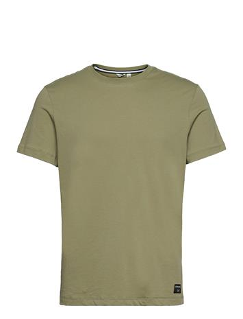 Björn Borg Tee Centre Centre T-shirts Short-sleeved Vihreä Björn Borg OIL GREEN