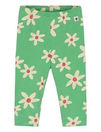 Lindex Leggings Flower Aop Leggingsit Vihreä Lindex GREEN