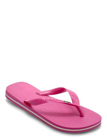 Havaianas Brasil Shoes Summer Shoes Flip Flops Vaaleanpunainen Havaianas PINK FLUX 5784