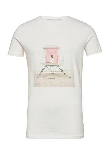 Kronstadt Print Tee T-shirts Short-sleeved Kermanvärinen Kronstadt PRINT 4