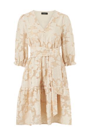 Selected Femme Mekko slfSadie V-neck 3/4 Short Dress