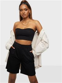 Only Onlivy Tailored Long Shorts Tlr Black