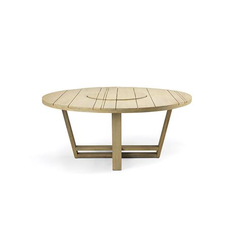 Ethimo Ethimo-Costes Dining Table 175 cm, Pickled Teak