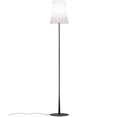 Foscarini Foscarini-Birdie Easy Floor Lamp, Matte black