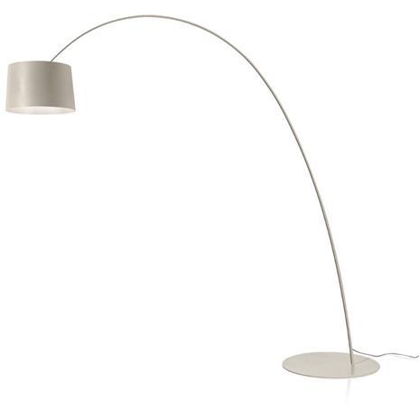 Foscarini Foscarini-Twiggy Elle Floor Lamp, Greige