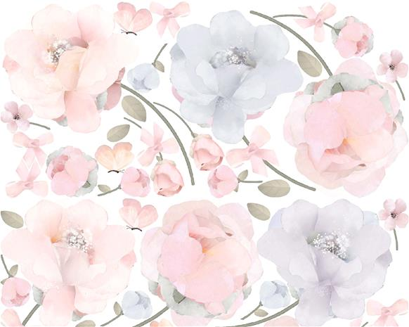 Schmooks Seinätarra Bows and Roses 1