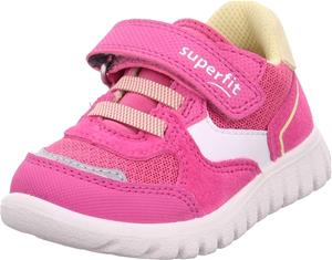 Superfit Sport7 Mini Lenkkarit, Pink/Yellow, 23