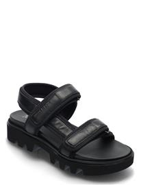 Marc O'Polo Piave 2a Shoes Summer Shoes Flat Sandals Kermanvärinen Marc O'Polo BLACK