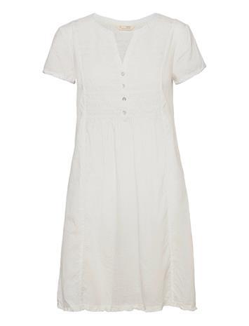 ODD MOLLY Myrtle Short Dress Dresses Everyday Dresses Valkoinen ODD MOLLY LIGHT CHALK