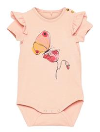 Soft Gallery Helga Body Bodies Short-sleeved Vaaleanpunainen Soft Gallery ROSE CLOUD, FLOWERFLY