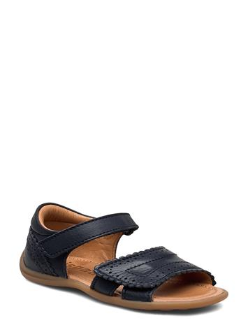 Bisgaard Bisgaard Alika Shoes Summer Shoes Sandals Sininen Bisgaard NAVY