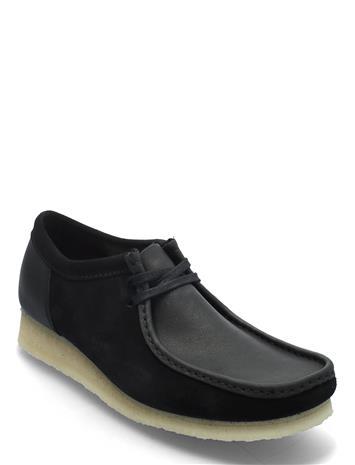 Clarks Originals Wallabee 2clr Loaferit Matalat Kengät Musta Clarks Originals BLACK COMBI