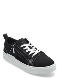 ARKK Copenhagen Sommr Canvas Pet R-H20 Black White Matalavartiset Sneakerit Tennarit Musta ARKK Copenhagen BLACK WHITE, Naisten kengät