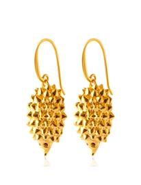 SOPHIE by SOPHIE Hedgehog Earrings Korvakoru Korut Kulta SOPHIE By SOPHIE GOLD