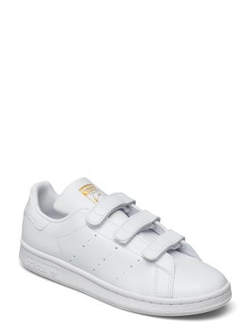 adidas Originals Stan Smith Matalavartiset Sneakerit Tennarit Valkoinen Adidas Originals FTWWHT/FTWWHT/GOLDMT