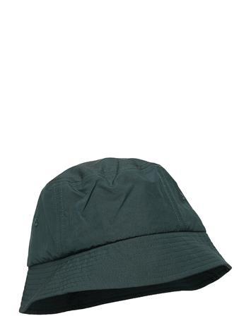 Wood Wood Nylon Bucket Hat Accessories Headwear Bucket Hats Vihreä Wood Wood DARK GREEN