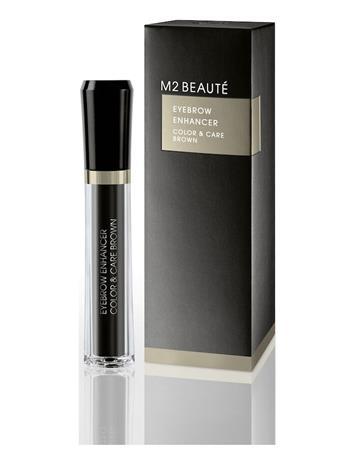M2 Beautä© Eyebrow Enhancer Color & Care Brown 6ml Kulmageeli Meikki M2 Beautä© BROWN