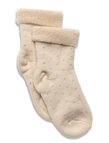 mp Denmark Carly Terry Socks Socks & Tights Socks Beige Mp Denmark BEIGE
