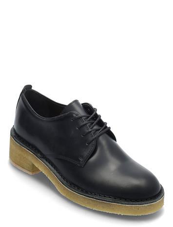 Clarks Originals Maru London Nauhakengät Matalapohjaiset Kengät Musta Clarks Originals BLACK POLISHED