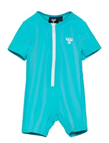 Hummel Hmldrew Bodysuit Swimwear UV Clothing UV Suits Sininen Hummel SCUBA BLUE