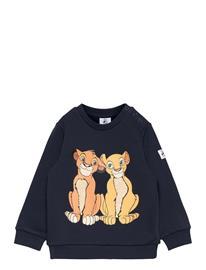 Polarn O. Pyret Sweatshirt Print Preschool Svetari Collegepaita Sininen Polarn O. Pyret DARK SAPPHIRE