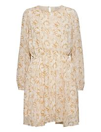 Notes du Nord Tracy Recycled Short Dress P Dresses Everyday Dresses Kermanvärinen Notes Du Nord FLOWER SKETCH