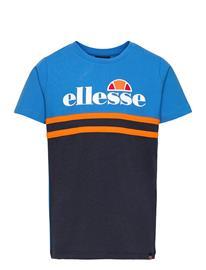Ellesse El Fordeni Inf Tee T-shirts Short-sleeved Sininen Ellesse NAVY