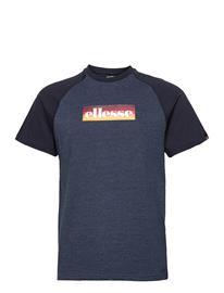 Ellesse El Kershaw Tee Shirt T-shirts Short-sleeved Sininen Ellesse NAVY MARL