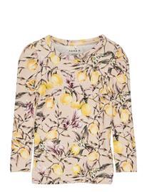 name it Nmfdansy Ls Xsl Top T-shirts Long-sleeved T-shirts Vaaleanpunainen Name It PEYOTE MELANGE