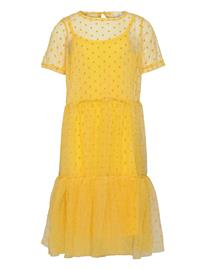 The New Uma Twist Dress Mekko Keltainen The New PRIMROSE YELLOW