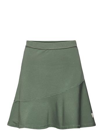 ODD MOLLY Sweep Away Skirt Lyhyt Hame Vihreä ODD MOLLY CARGO GREEN