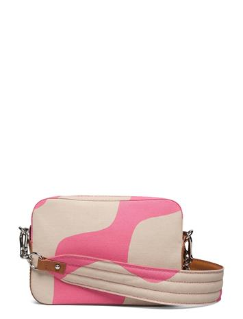 Marimekko Toivio Taifuuni Bag Bags Clutches Vaaleanpunainen Marimekko BROWN, PINK