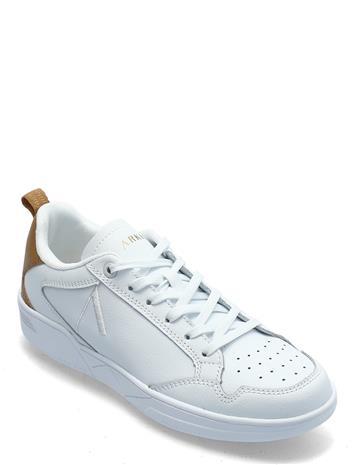 ARKK Copenhagen Visuklass Leather S-C18 White Deser Matalavartiset Sneakerit Tennarit Valkoinen ARKK Copenhagen WHITE DESERT BROWN