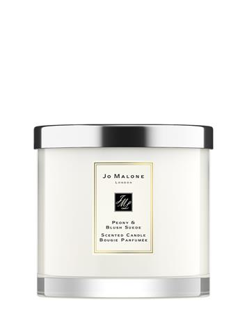 Jo Malone London Peony & Blush Suede Home Candle Pre-Pack Tuoksukynttilä Nude Jo Mal London CLEAR