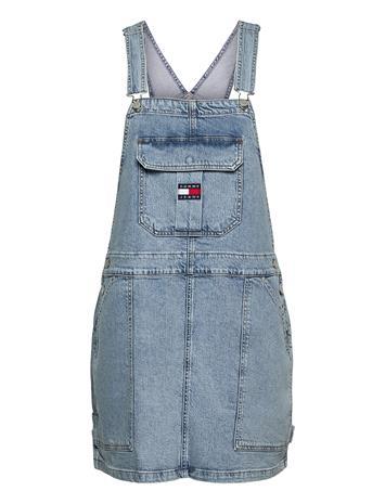 Tommy Jeans Cargo Dungaree Dress Tjllbc Lyhyt Mekko Musta Tommy Jeans LEON LB COM