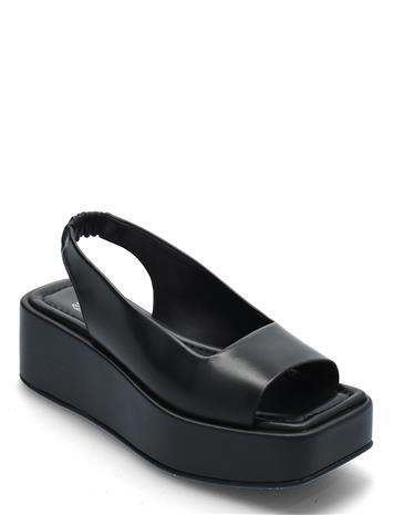 ANNY NORD Level Up Sling-Back Shoes Heels Pumps Sling Backs Musta ANNY NORD BLACK