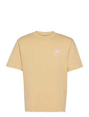 HOLZWEILER Succulent Tee T-shirts Short-sleeved Kermanvärinen HOLZWEILER BEIGE