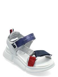 Tommy Hilfiger Velcro Sandal Shoes Summer Shoes Sandals Monivärinen/Kuvioitu Tommy Hilfiger MULTICOLOR