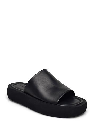 By Malene Birger Siri Shoes Summer Shoes Flat Sandals Musta By Malene Birger BLACK