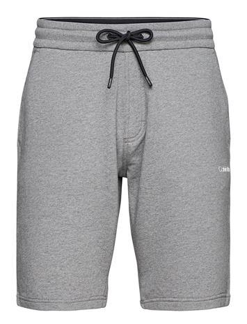 Calvin Klein Small Logo Sweatshort Shorts Casual Harmaa Calvin Klein MID GREY HEATHER