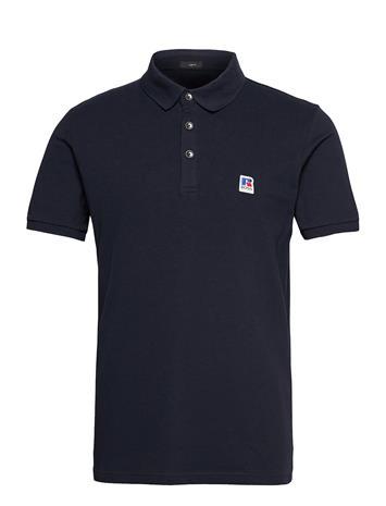 BOSS Petroc_ra Polos Short-sleeved Sininen BOSS DARK BLUE