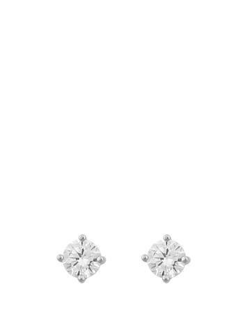 SNä– of Sweden Lynn Small St Ear Accessories Jewellery Earrings Studs Hopea SNä– Of Sweden S/CLEAR