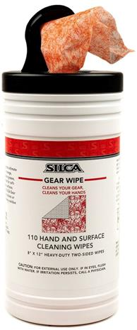 SILCA Gear Wipe Cleaning Wipes for Hands & Surfaces