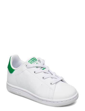 adidas Originals Stan Smith El I Matalavartiset Sneakerit Tennarit Valkoinen Adidas Originals FTWWHT/FTWWHT/GREEN