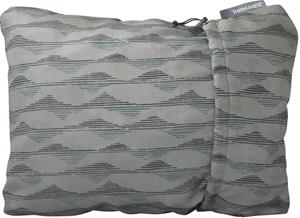 Therm-a-Rest Compressible Pillow XL, gray mountains