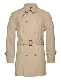 SAND Techno Cotton - Trench B Trenssi Takki Beige SAND LIGHT CAMEL