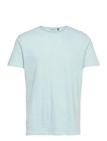 RVLT Round Neck T-Shirt T-shirts Short-sleeved Sininen RVLT MINT